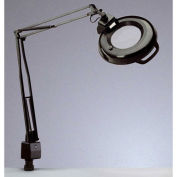 "5-Diopter Lens Fluorescent Magnifier W/Clamp-On, 45"" Reach, 120V, 22W"