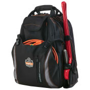 "Tool Backpack Dual Compartment , 19""L x 16""W x 9""H, Gray"