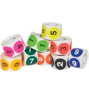 "Tape Logic 2"" Dia. Circle Easy Order Number 1-10 Packs 500 Labels Per Roll 10 Rolls, DL1240"