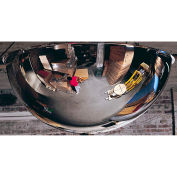 "360-Degree Acrylic Full Dome Mirror - Indoor, 36"" Diameter"
