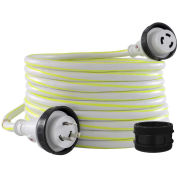50', 30A, Glowing Marine Shore Power Cord, NEMA L5-30