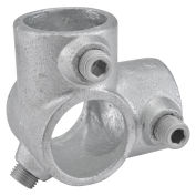 """1"""" Size 90 Degree Two Socket Tee Pipe Fitting"""