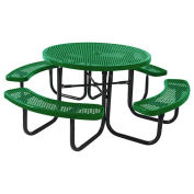 "46"" Round Table, Surface Mount, Green"
