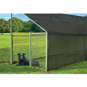 ShelterLogic ShadeLogic Shade Cloth 25 ft. x 6 ft Black