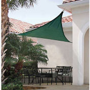 ShelterLogic ShadeLogic Sun Shade Sail Heavy Weight Triangle 16 ft. x 16 ft. Evergreen
