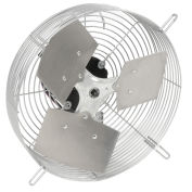 "TPI 12"" Guard Mounted Direct Drive Exhaust Fan, 1/12HP, 825CFM"