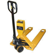 Ravas Pallet Scale Truck, NTEP Approved Legal for Trade, 5000 Lb. Capacity, Yellow