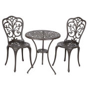 3-Piece Bistro Set, Faustina Antique Bronze