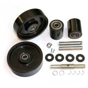 GPS Complete Wheel Kit for Manual Pallet Jack - Fits Clark, Model # CJ55