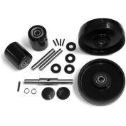 GPS Complete Wheel Kit for Manual Pallet Jack - Fits Crown, Model # Older PTH, PTH