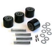 GPS Load Wheel Kit for Manual Pallet Jack - Fits American Lifts, Model # Little Mule