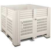 "MACRO PLASTICS MacroBin Large-Capacity Rectangular Bins - Smooth Walls - 48.3""Wx44.8""Lx34.6""H"