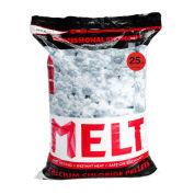 Snow Joe MELT25CCP MELT 25 Lb. Bag Calcium Chloride Pellets Ice Melter, Resealable Bag