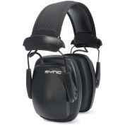 Howard Leight by Honeywell Sync 1030110 Stereo Earmuff with Audio Input Jack, Black
