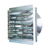"""MaxxAir™ IF30  30"""" Heavy Duty Exhaust Fan With Integrated Shutter, 5500 CFM"""