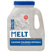 Snow Joe MELT10CC-J-PLT MELT 10 Lb. Calcium Chloride Crystals Ice Melt - 200 Jugs/Pallet