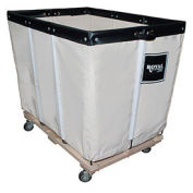 "Cotton Canvas Basket Truck, 26""Wx36""Dx33-1/2""H"