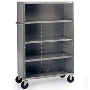 "Parent Metal Volume Transport 5-Shelf Stock Truck, 48x24x57"""