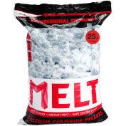 Snow Joe MELT25CCP-PLT MELT 25 Lb Bag Calcium Chloride Pellets Ice Melter, Resealable Bag 100/Pallet