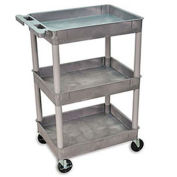 "Luxor Tray-Shelf Carts - 24""W x 18""D Shelf, 40-1/2""H"
