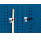 """Toolboard Flex Clamps For Perfo Panels, 1-1-5/8""""W"""