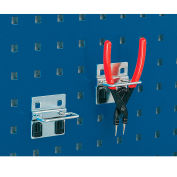 """Plier Hooks For Perfo Panels, Package Of 10, 3""""W"""
