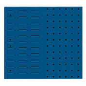 Steel Louvered Panel Toolboard, Combo Perfo/Louvered Panels 20X18