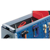 """Upper Storage Tray With Mat For Perfo-Tool Trolleys, For 47""""H Trolleys"""