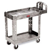 "Premium Universal Shelf Carts - 36""W x 24""D Shelf, 38-1/8""H - Gray"