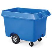 Techstar Next Generation Starcarts Bulk Truck, Polyethylene, 31Wx48Dx34-1/2H, Blue