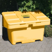 "Techstar SOS Outdoor Storage Container - 11 Cu. Ft. - Yellow, 42"" x 29"" x 30"""