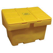 "Techstar SOS Outdoor Storage Container - 18.5 Cu. Ft. - Yellow, 48"" x 33"" x 34"""