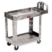 "Rubbermaid Premium Universal Shelf Carts, Gray, 30""Wx16""D Shelf, 38-1/8""H"
