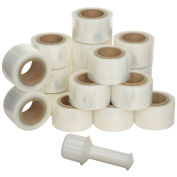 "120 Gauge Banding Stretch Wrap - 3""X700', Cast - Pkg Qty 18"