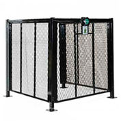 AC Protection Cage for Residential Units 4' x 4
