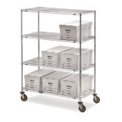 "Metro Super Erecta Trucks with Wire Shelves, 48""W x 24""D x 68""H"