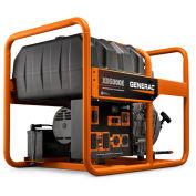 Generac Generator, Diesel Engine, Recoil/Electric Start