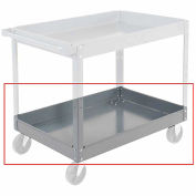 "Nexel 3"" Deep Tray for Steel Shelf Carts & Trucks, 30 x 16"