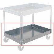 "Nexel 3"" Deep Tray for Steel Shelf Carts & Trucks, 36 x 24"