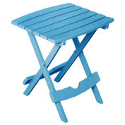 Quik Fold Side Table, Pool Blue