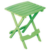 Quik Fold Side Table, Summer Green