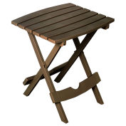 Quik Fold Side Table, Earth Brown