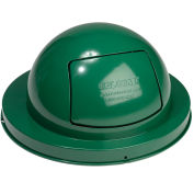 Dome Top Lid, Steel, Green