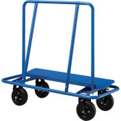 "Sheet Rock Drywall Cart 8"" No Flat Wheels 2400 Lb. Capacity, 47-1/2""L x 21-1/2""W x 46-1/4""H"