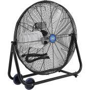 "Portable Tilt Floor Fan, 24"", Direct Drive"