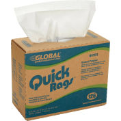 Quick Rags General Purpose Wipers, 126 Sheets/Box, 10 Boxes/Case