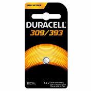 Duracell® D309/393B Coin Button Battery, 6 Pack
