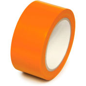 "Floor Marking Aisle Tape, Orange, 2""W x 108'L Roll, PST218"