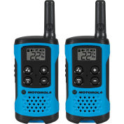 Motorola Talkabout® Two-Way Radios, Neon Blue, 2 Pack