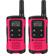 Motorola Talkabout® Two-Way Radios, Neon Pink, 2 Pack